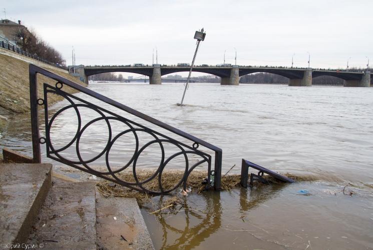 Большая вода пришла в Тверь
