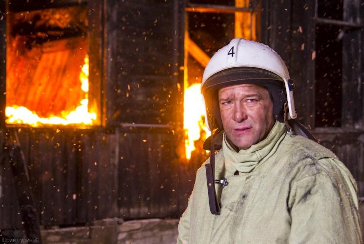"""Съемки фильма \""""КТО-ТО ТЕРЯЕТ, КТО-ТО НАХОДИТ\"""" в Твери, на пожаре"""