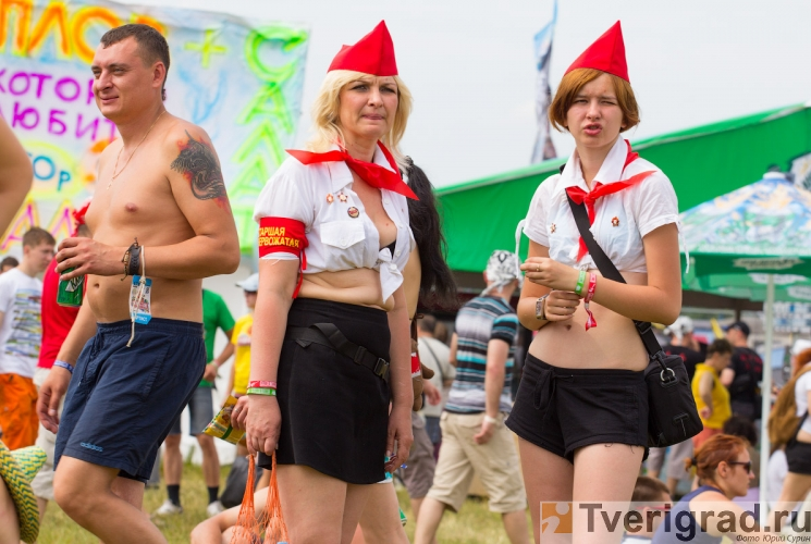 Рок-фестиваль Нашествие 2012 в Тверской области