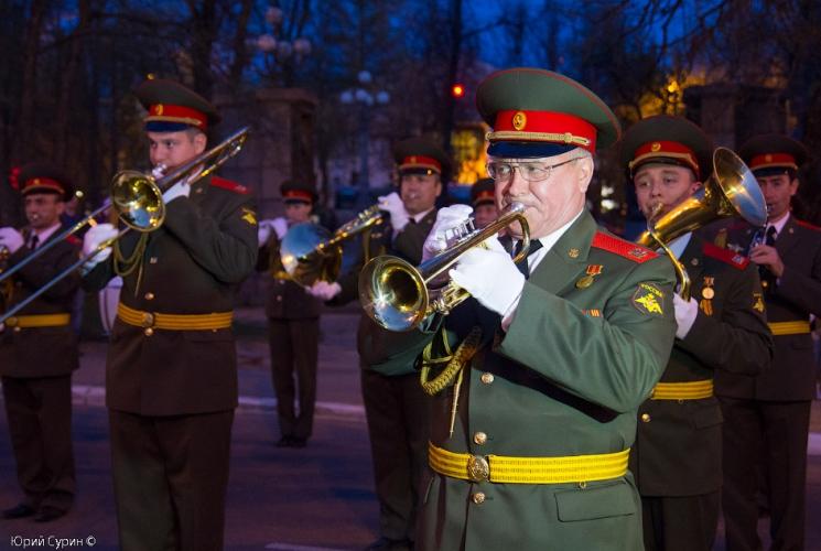 Репетиция Парада Победы в Твери 2013