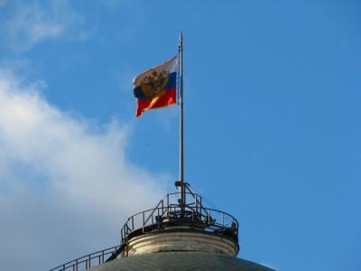 флаг над кремлем
