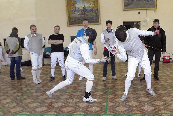 Открытый чемпионат области по фехтованию