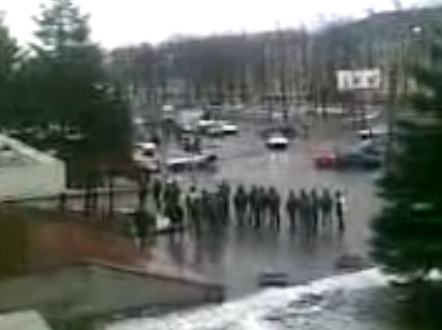 Погоня в Минске