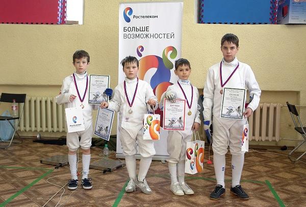 Юные победители турнира