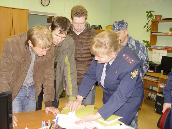 В местах лишения свободы также приняли участие в голосовании