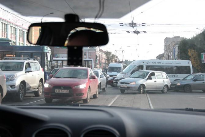 Пробки в Твери