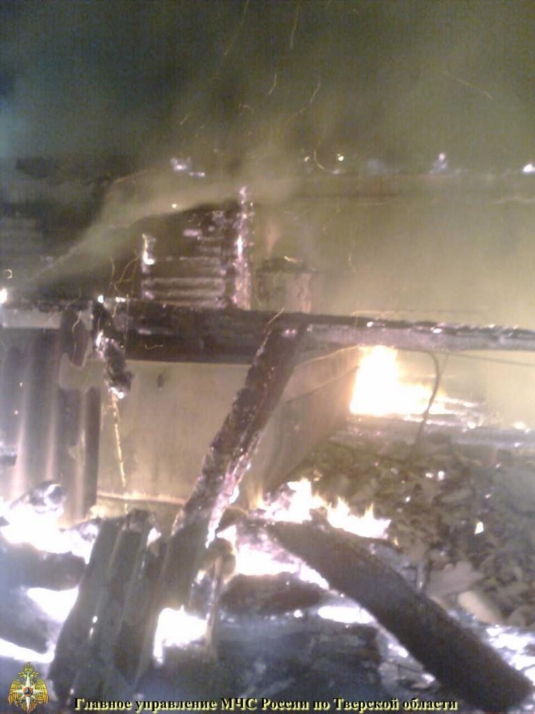 Пожар на скотном дворе.