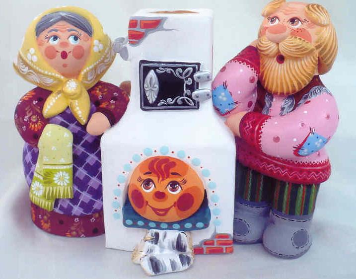 Глиняная игрушка своими руками фото