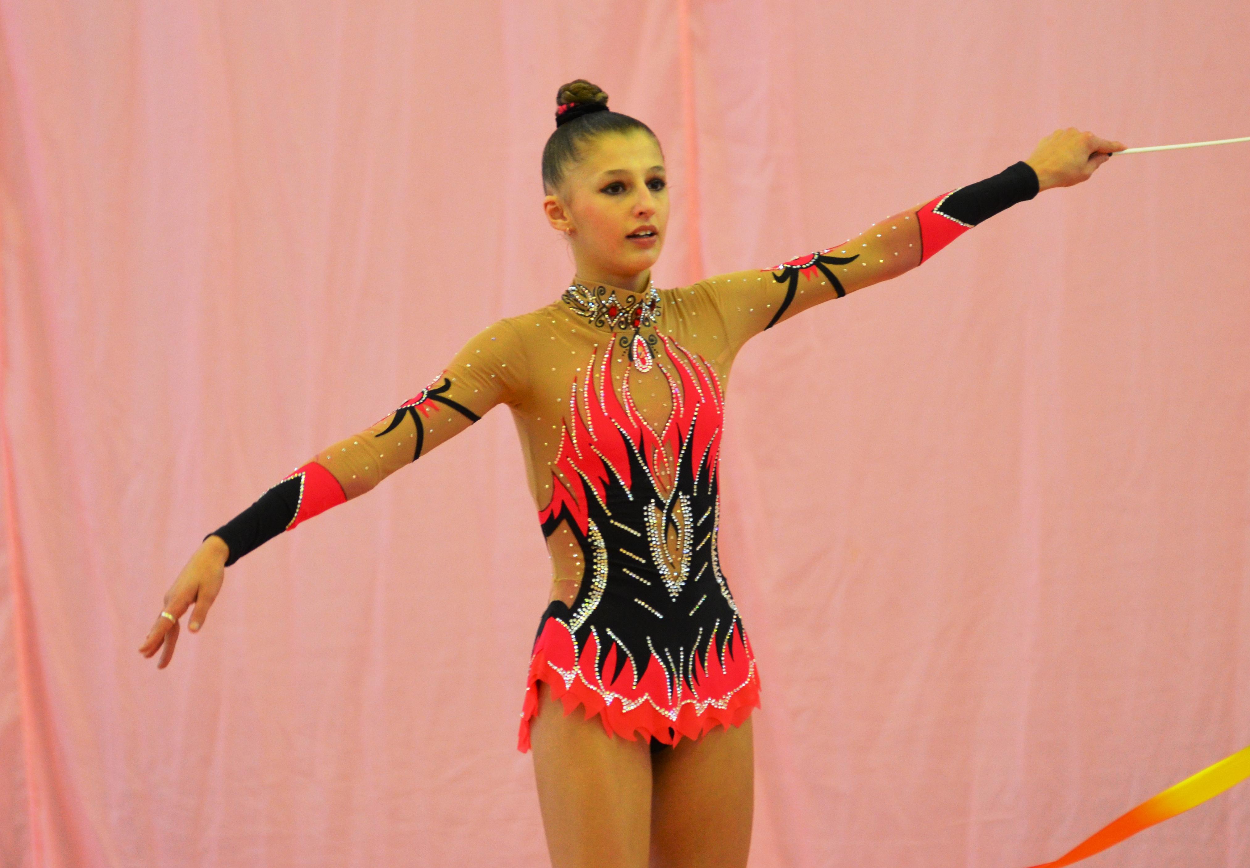 Анастасия Кабанова - победительница первенства области