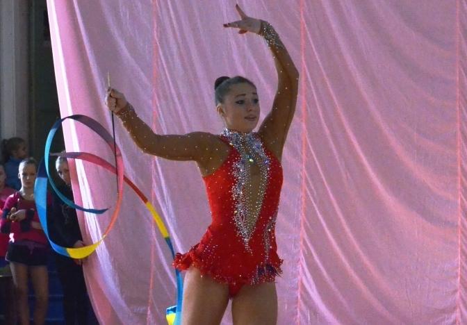 Чемпионка области Ксения Черезова