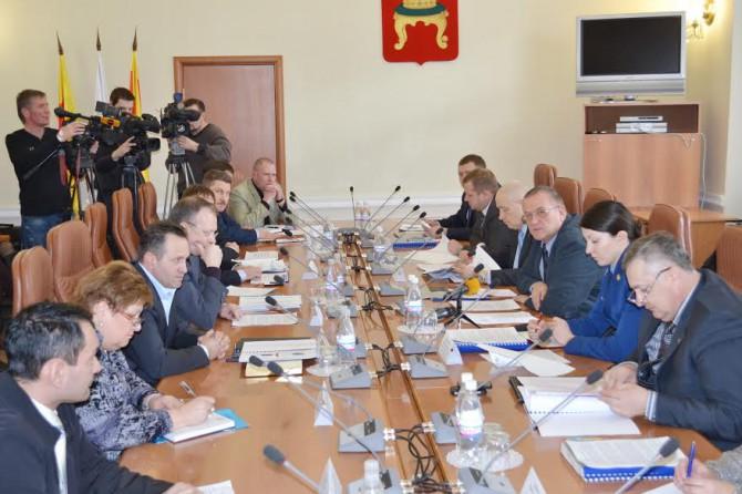совещание в администрации Твери