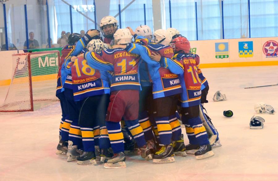 Юные хоккеисты из Кимр – обладатели Кубка В. Третьяка