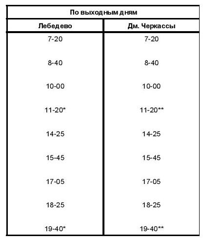 автобусного маршрута №154