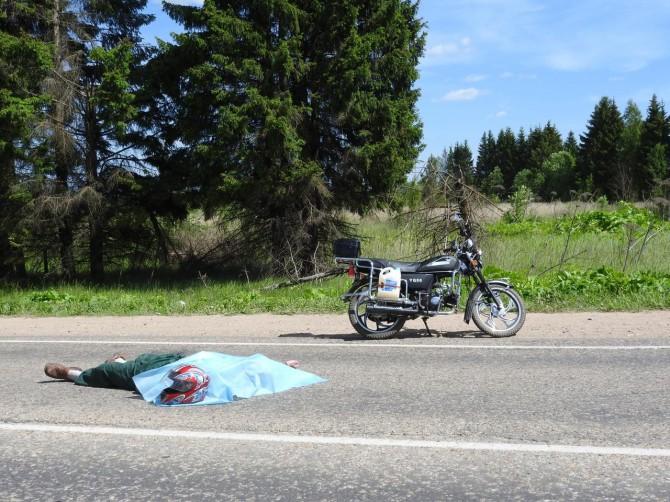 погиб водитель мопеда