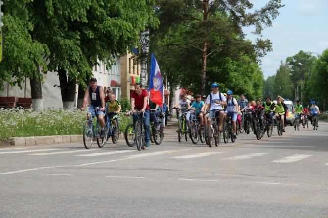 Открытие велосезона в Нелидово