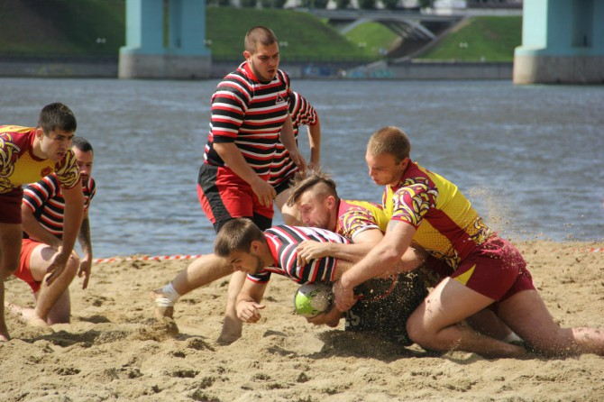 РК Штурм на турнире в Ярославле