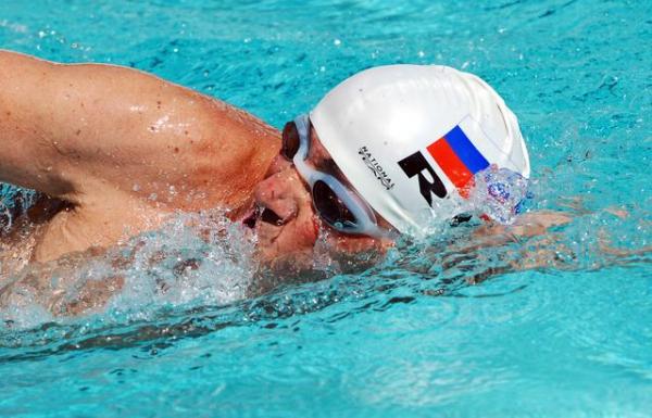 Михаил Маневич - чемпион мира по плаванию среди ветеранов