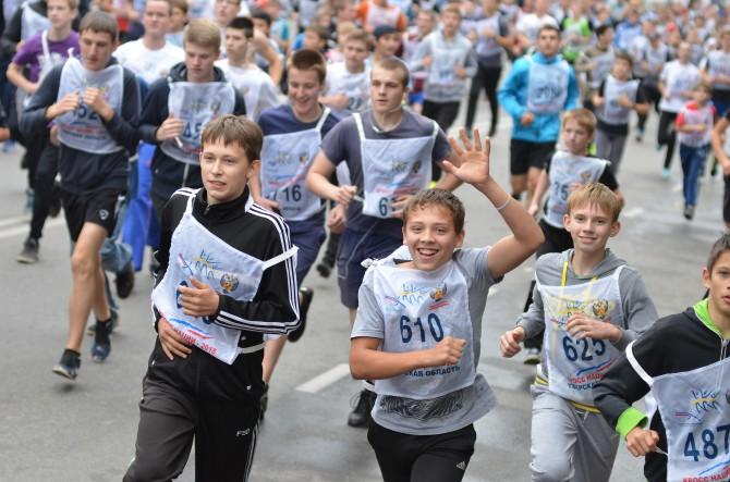 27 сентября. Тверь. Всероссийский день бега Кросс нации-2015