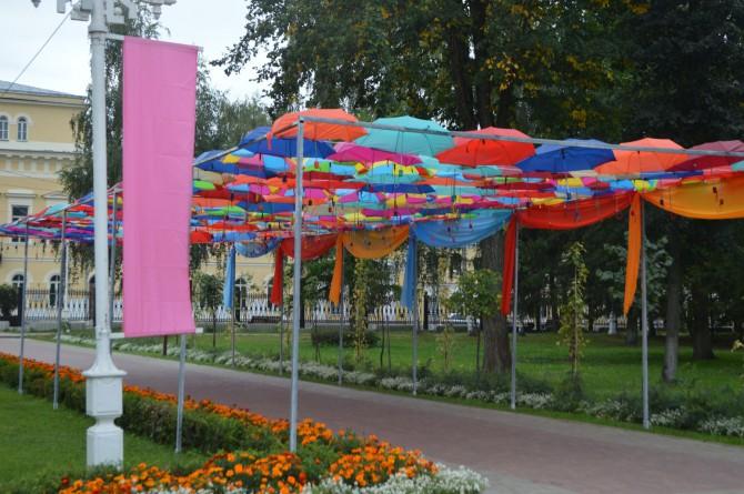Фестиваль зонтов