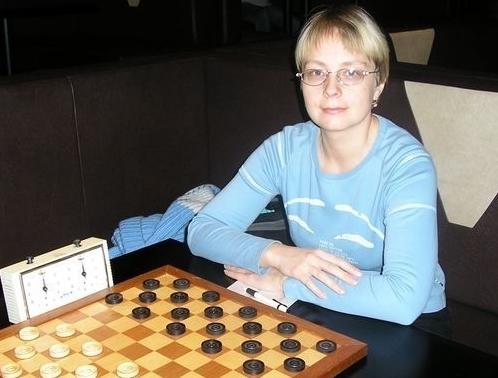 Марина Боркова - чемпионка Тверской области по международным шашкам
