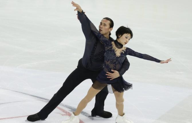 Александр Смирнов и Юко Кавагути - победители Гран-при в Пекине