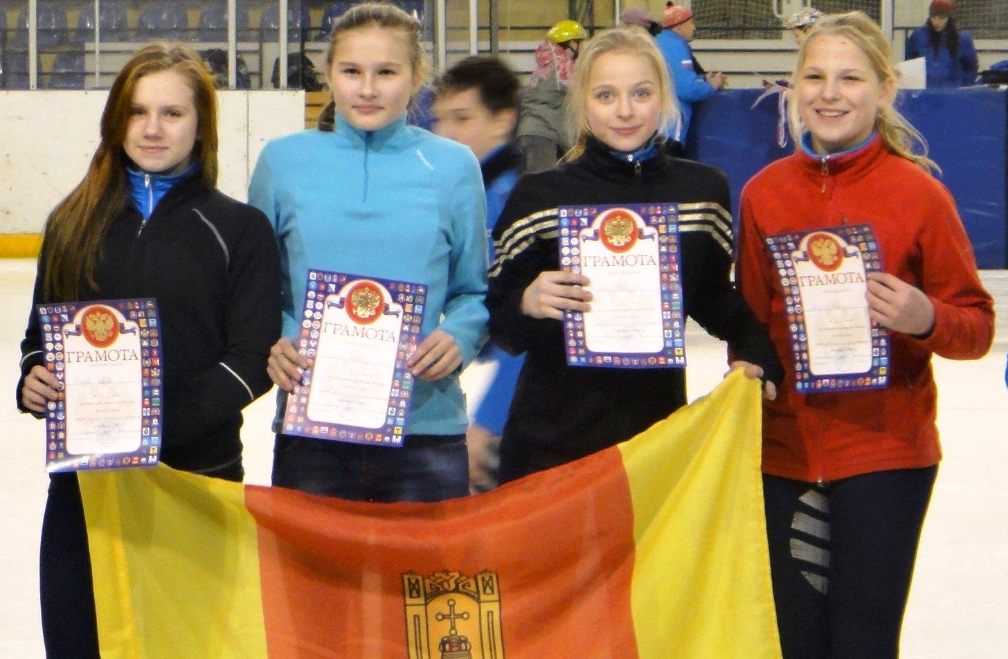 Тверские девушки - победительницы эстафеты в Смоленске
