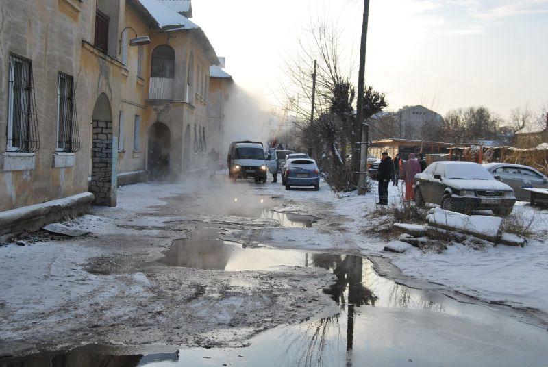 Почему нет горячей воды в заволжском районе в твери