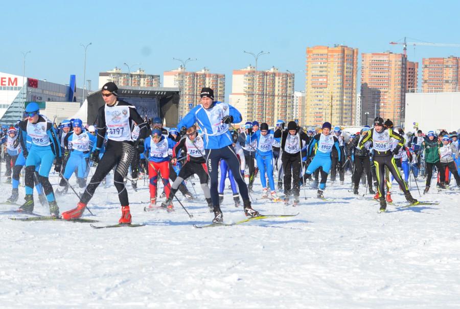 Лыжня России-2016 в Твери