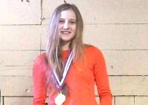 Дарья Горбатенко - абсолютная чемпионка Тверской области