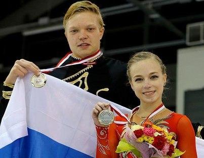 Дмитрий Сопот и Екатерина Борисова - чемпионы зимних юношеских Олимпийских игр