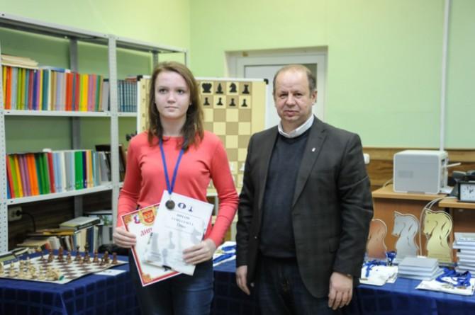 Лидия Гусева на первенстве мира по решению шахматных композиций