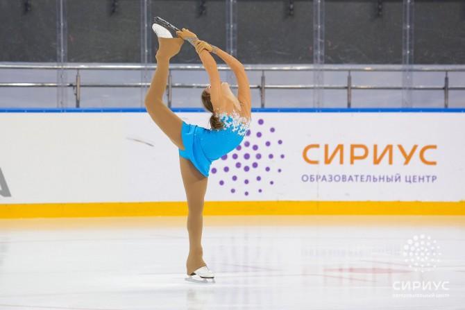 Полина Саламатова на олимпийской арене ДС Большой