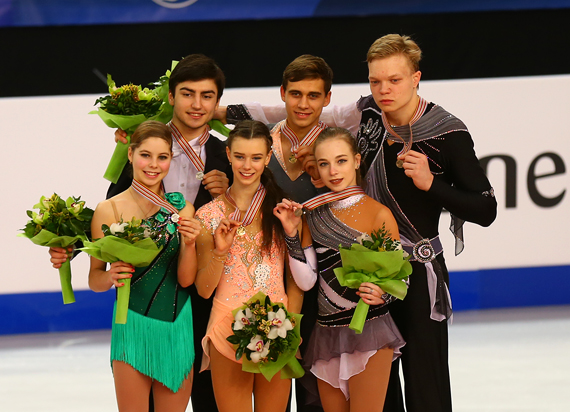 Дмитрий Сопот (на снимке справа) - призер чемпионата мира