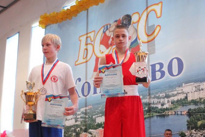 Павел Бобков - победитель первенства ЦФО