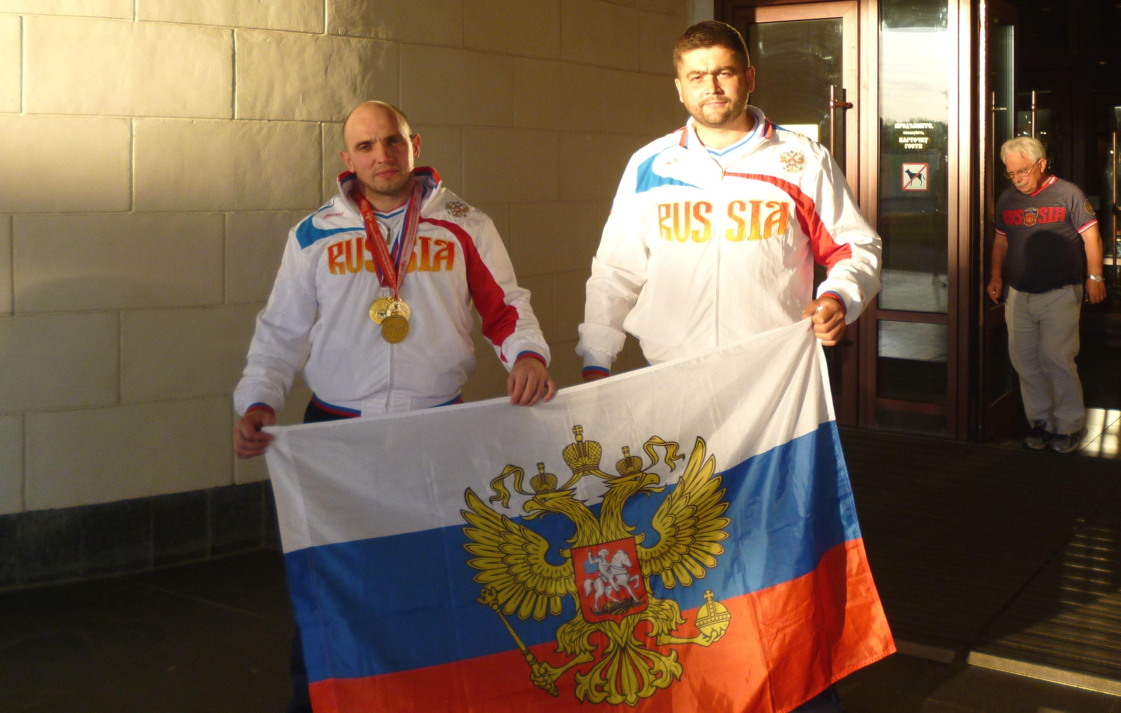 Алексей Кузьмин и Михаил Садовников