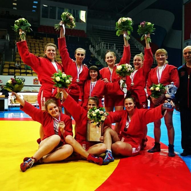 Команда ЦФО - серебряный призер чемпионата России