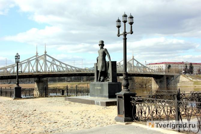 памятник Пушкину горсад