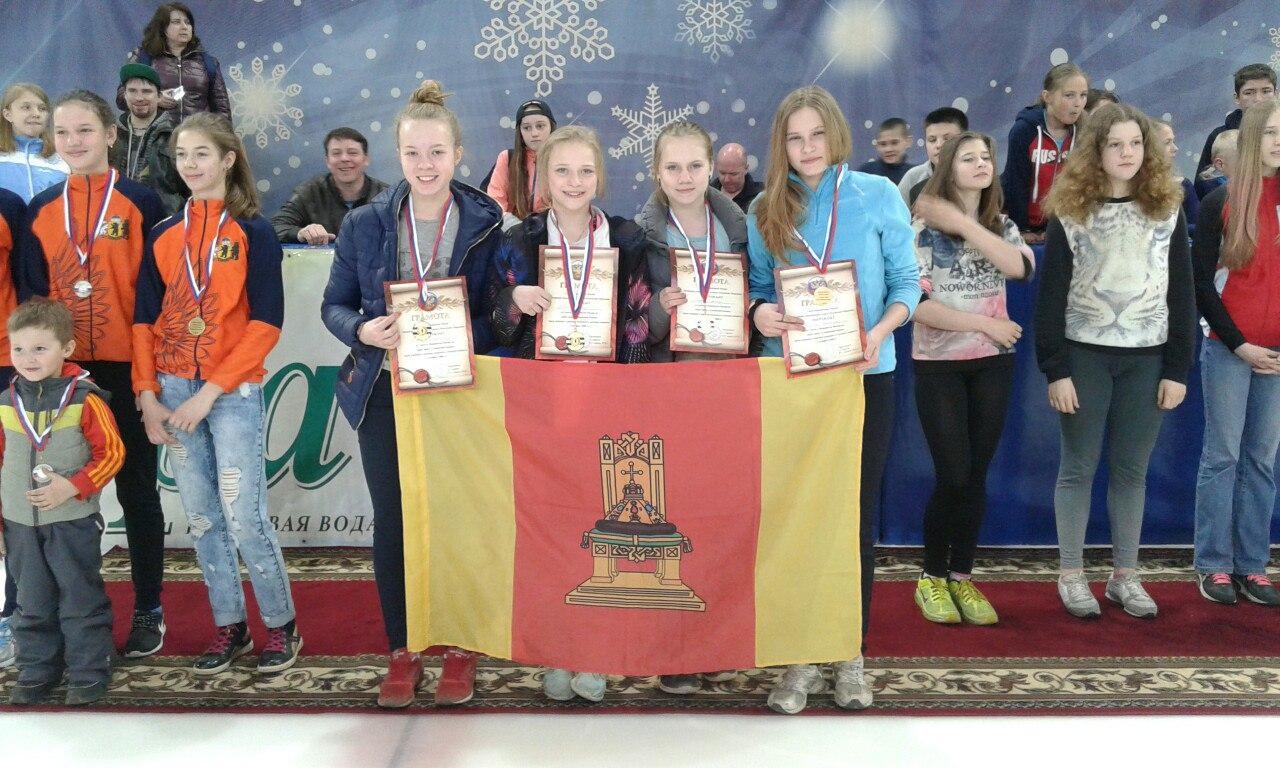 Тверские девушки - победительницы первенства России по шорт-треку