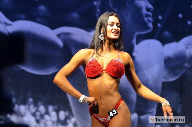 На чемпионате по фитнес-бикини в Твери