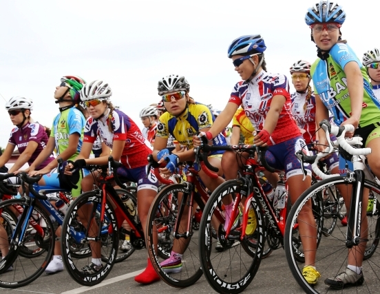 На соревнованиях по велоспорту
