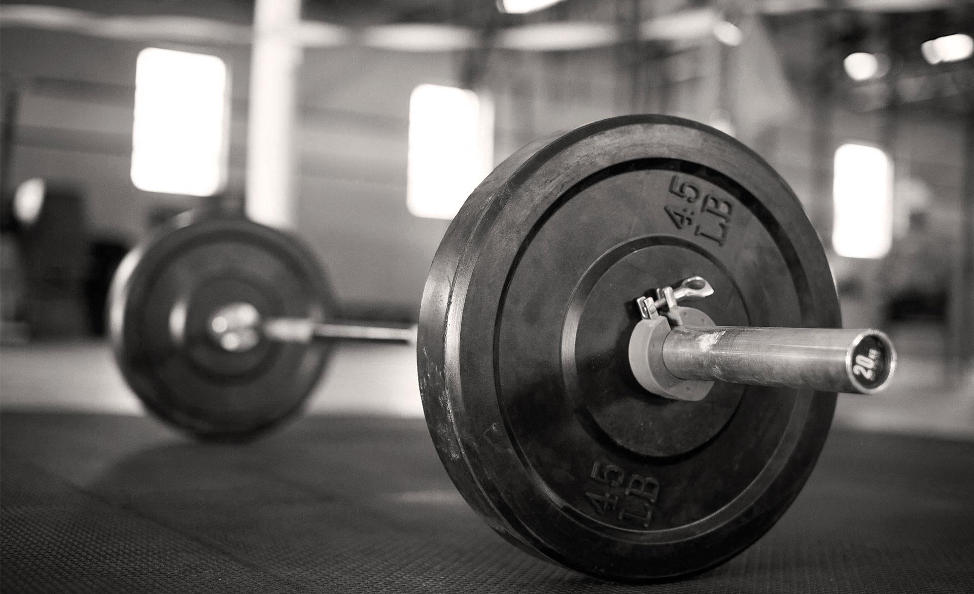 На соревнованиях по тяжелой атлетике