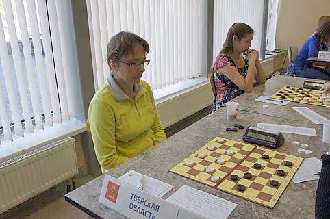Марина Боркова на чемпионате России в Коломне