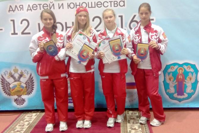 Команда Рамешковской СОШ-2