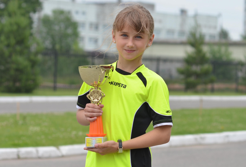 Виктория Никешина - победительница регионального фестиваля ГТО