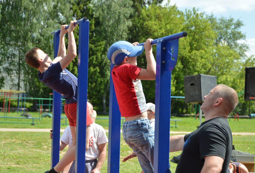В Торжке открылась новая спортивная площадка для сдачи норм ГТО