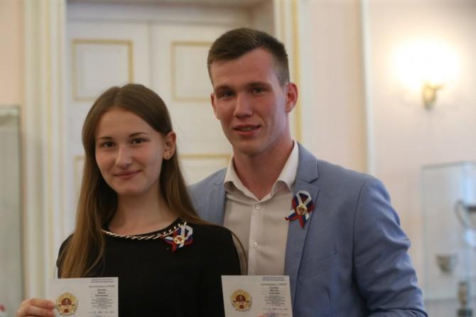 Мария Лукина и Михаил Ступин