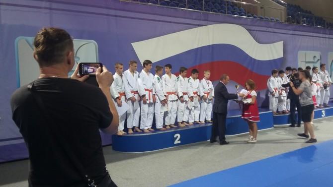 Тверская команда на национальном пьедестале почета