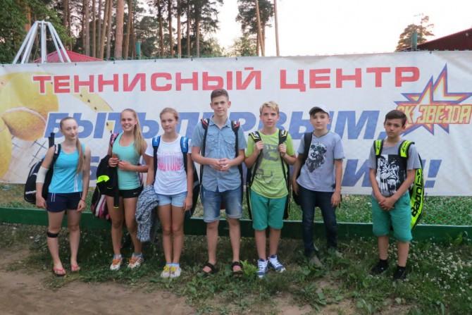 Тверские теннисисты на турнире в Рыбинске
