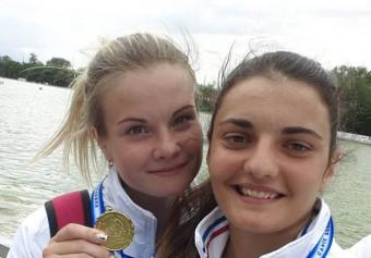 Алия Алмакаева и Дарья Харченко