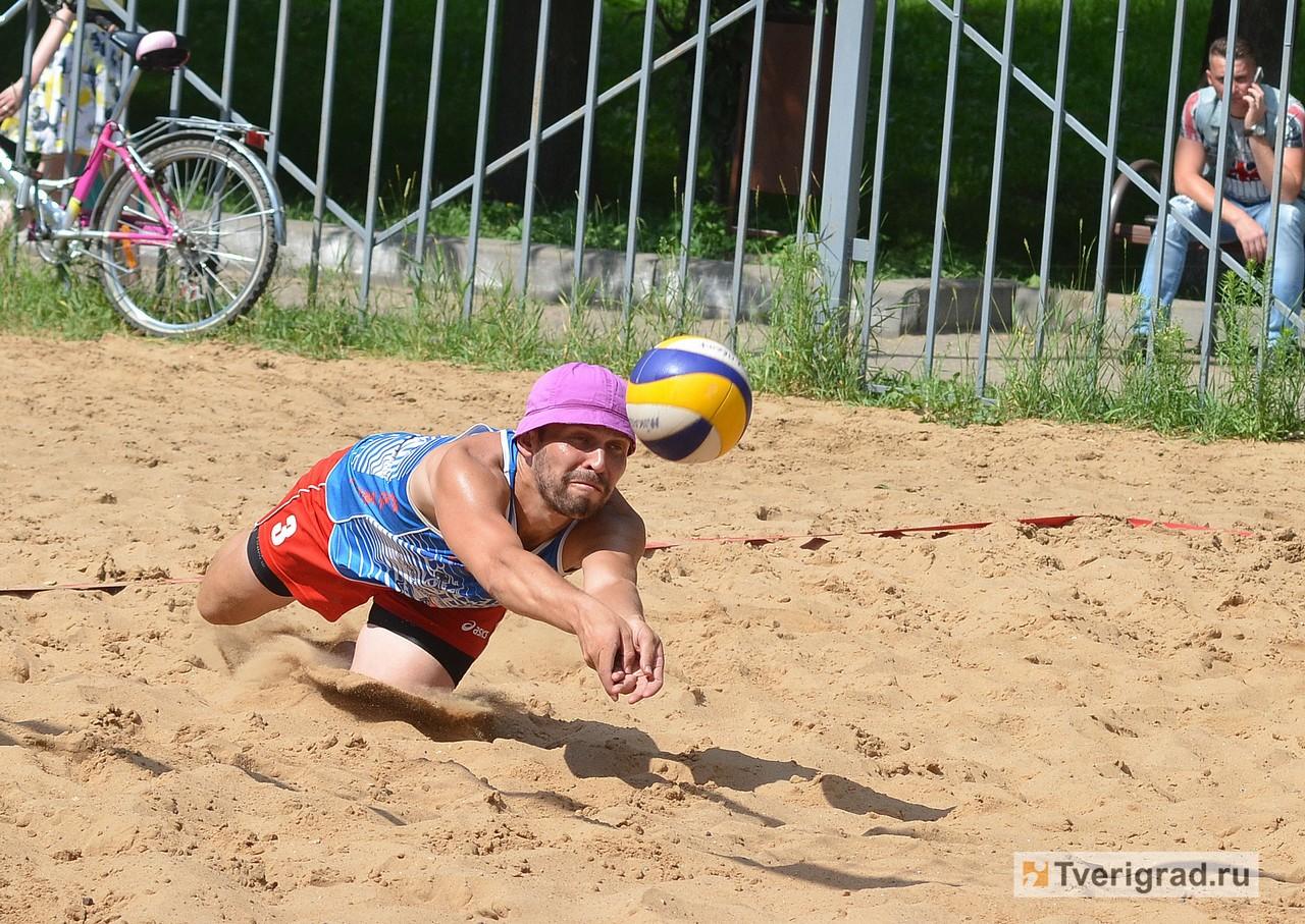 На чемпионате Тверской области по пляжному волейболу